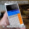 Mi profesor siempre dijo que nunca tendria una calculado a mano