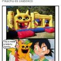 Pikachu en realidad es diabolico