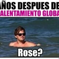 Titanic despues del calentamiento global
