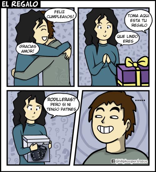 Un regalo que insinua mucho