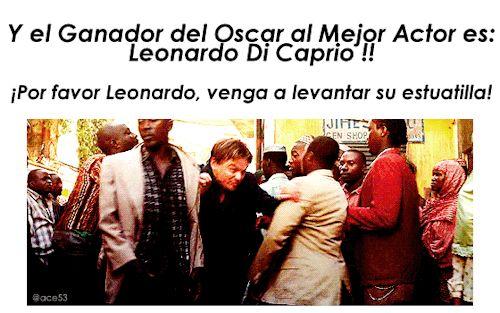 Y Si Di Caprio ganara este año el oscar
