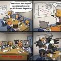Y por esto los gatos nunca seran ejecutivos
