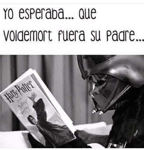 Cuando Vader leyo Harry potter