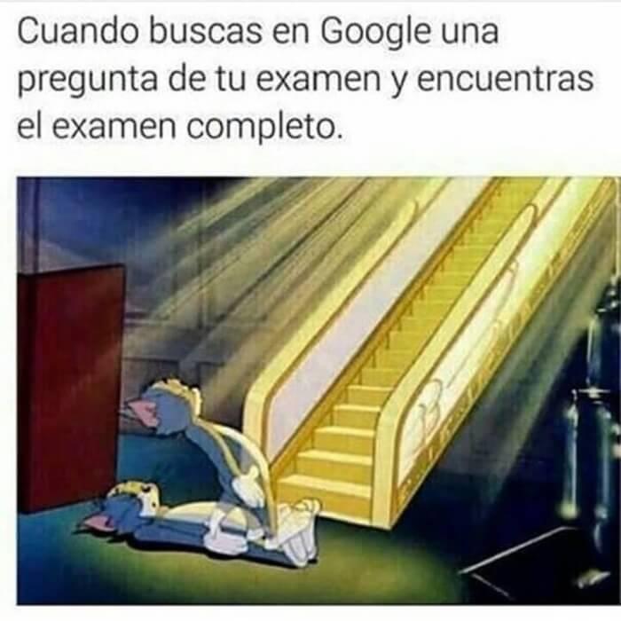 Cuando buscas algo en google