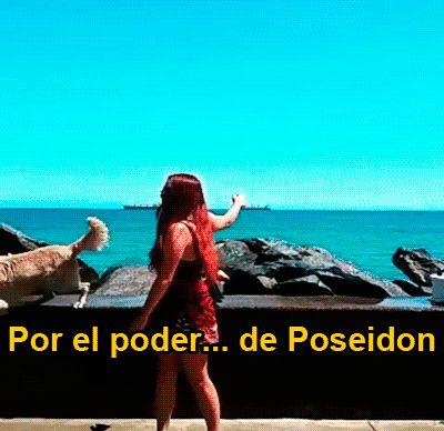 Cuando descubres el poder de Poseidon