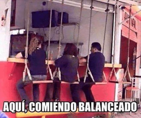 Cuando te propones comer balanceado