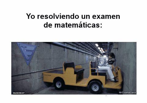Cuando tienes que resolver un problema matematico