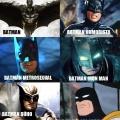 Diferentes tipos de Batman