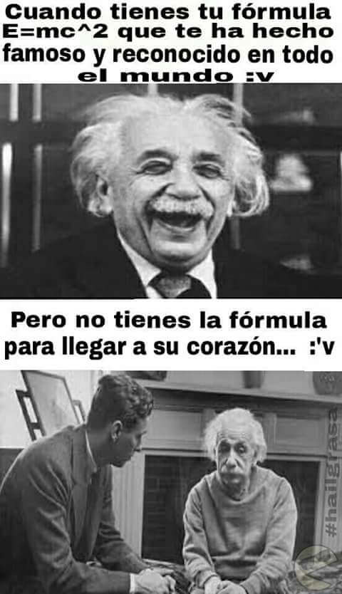 Einstein nunca logro descifrar la formula