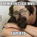 Formas de dormir en clase