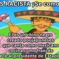No seas racistas