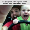Nunca dejes a tu hijo con su padre