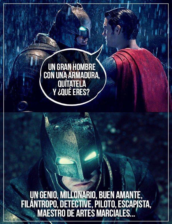 Porque Batman es mejor que Superman