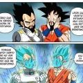 Porque Vegeta y Goku no se dejan la barba