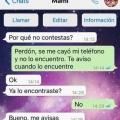 Razones para no responder a la madre