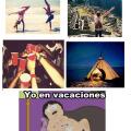 Vacaciones de los demas vs las nuestras