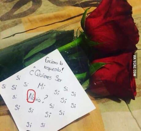 Como pedir que sea tu novia