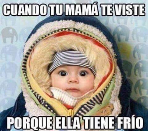 Cuando tu madre te viste