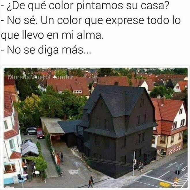 De que color pintar la casa - Pintar la casa de colores ...