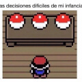 Decisiones dificiles de la infancia