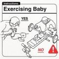 Ejercicios correctos para los bebe