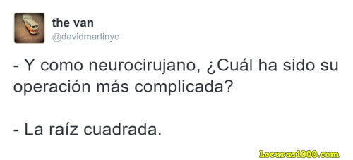 La operacion mas compleja de un neurocirujano
