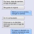 Mi madre comenzo a usar Internet