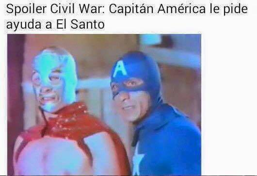 Spoiler de Civil War