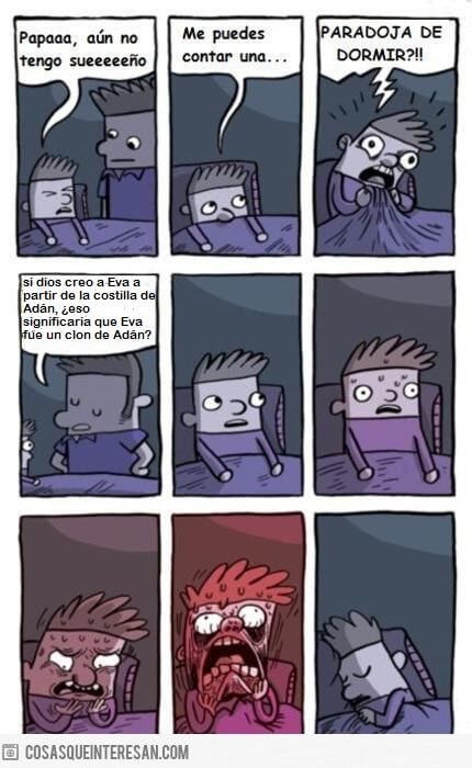 Una gran paradoja para dormir