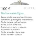 piedra meteorologica