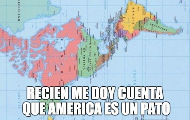 America parece un