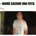 Cuando tu madre te saca una foto