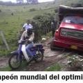 El campeon mundial del optimismo