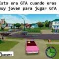 Esto era GTA cuando no podias jugar GTA