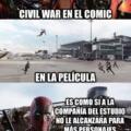 La verdad de Civil War