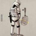 No es facil ser un soldado imperial