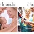 Somos muy diferentes a nuestros amigos