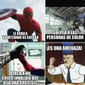 Spiderman es una amenaza