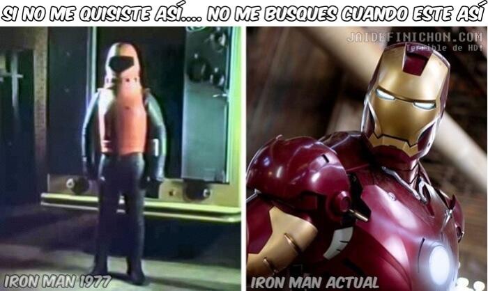 Como ha mejorado IronMan
