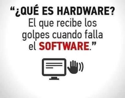 Como saber la diferencia entre hardware y sotfware