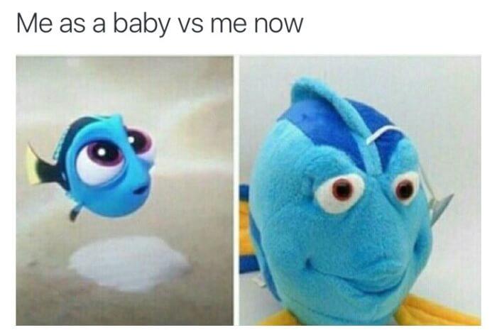 Cuando eres bebe sueles ser hermoso