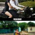 El amor en dos ruedas
