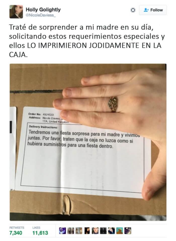 La prueba de que las instruciones nadie las lee