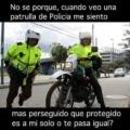 Las patrullas de la policia