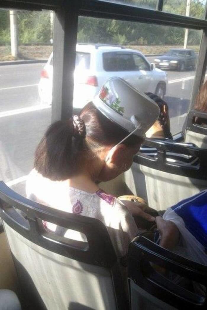 Los sombreros asiaticos los utilizamos mal