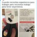 Necesitas experiencia para