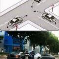 Que auto debe pasar primero