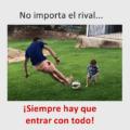 Reglas de un buen futbolista