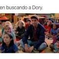 Todos nosotros viendo buscando a Dory