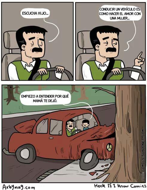 Conducir es como hacer el amor